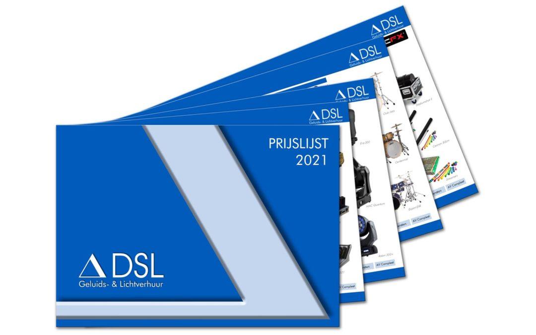 Prijslijst DSL 2021